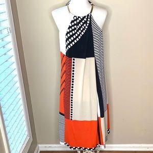 Calvin Klein halter shift dress